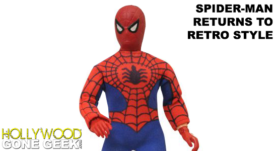 Spider-Man, Marvel, Mego, Retro Style, EMCE Toys, Daily Bugle, Peter Parker, DST, World's Greatest Super-Heroes, Diamond Select Toys, Repro, Marvel Comics