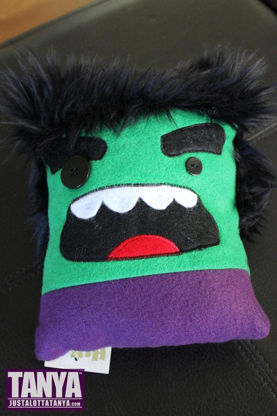 Tanya Tate Wondercon 2014 Haul Goodies Hulk Plush Pillow Cubies