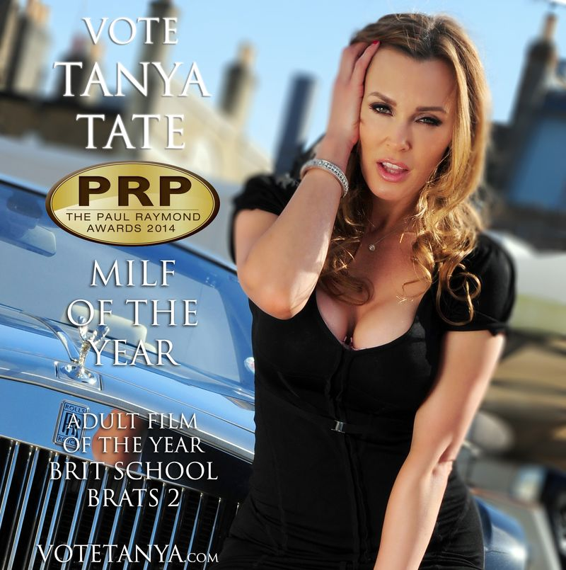 TANYA TATE Vote Tanya Paul Raymond Magazine Awards 2014