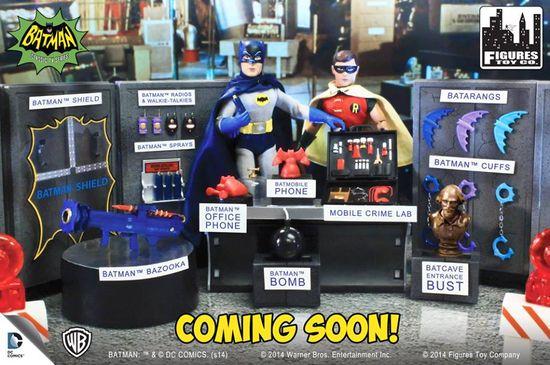 Figures Toy Co Batman Accessory Pack TV Series Action Figures 01