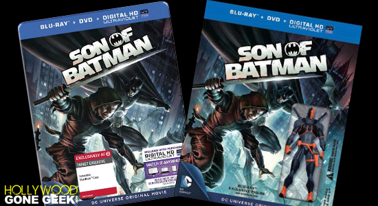 DC Animated Movie Son of Batman Exclusive Bluray DVD Home Media