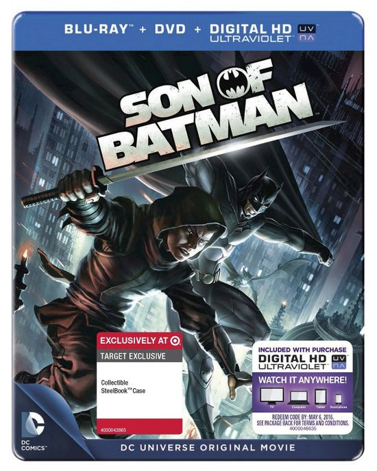 DC Animated Movie Son of Batman Exclusive Bluray DVD Home Media Target