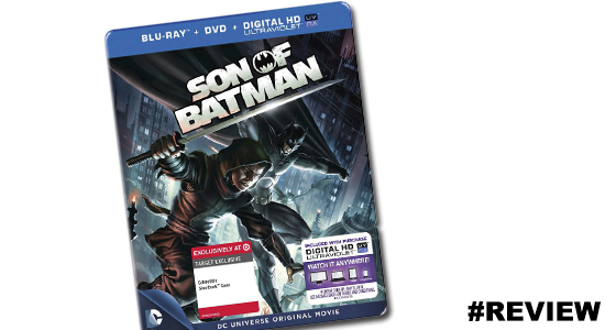 Son of Batman BlueRay Steelbook Target Exclusive DVD Packaging 04