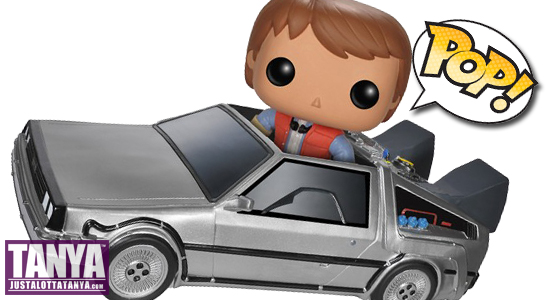 Back To The Future, Doc Brown, Time Machine, POP! Ride, DeLorean, Funko, Marty McFly, POP Vinyl figure, Tanya Tate, Toy, Collectible, June, 2014, Action Figure, 80s, BTTF