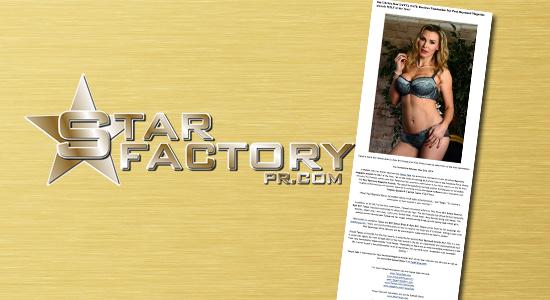 Star Factory PR Press Release Publicity Promo Public Relations
