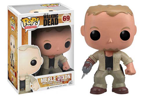 The Walking Dead TV Series Merle Dixon Pop! Vinyl Figure