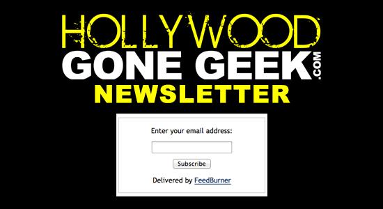 Hollywood Gone Geek HGG Newsletter