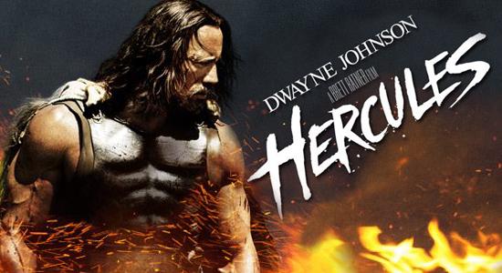 Dwayne Johnson, Trailer, Entertainment, The Rock, Irina Shayk, John Hurt, Joseph Fiennes, Brett Ratner, Hercules, Action, Hollywood, Gone Geek