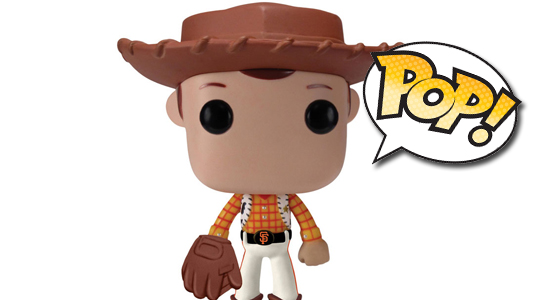 Funko POP Toy Story Pixar Disney San Francisco Giants Exclusive 00