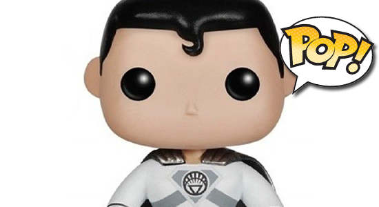 Funko POP Superman White Lantern SDCC Exclusive Fugitive Toys