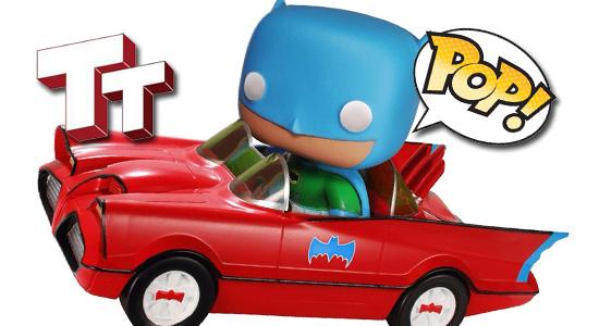 FUNKO POP Batmobile Toy Tokyo Exclusive Red Batman