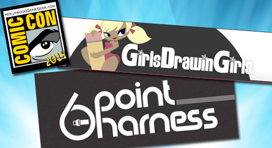 San Diego Comic Con, SDCC, Party, 2014, Thursday, RSVP, Girls Drawin' Girls, 6 Point Harness, Chuck Jones Gallery