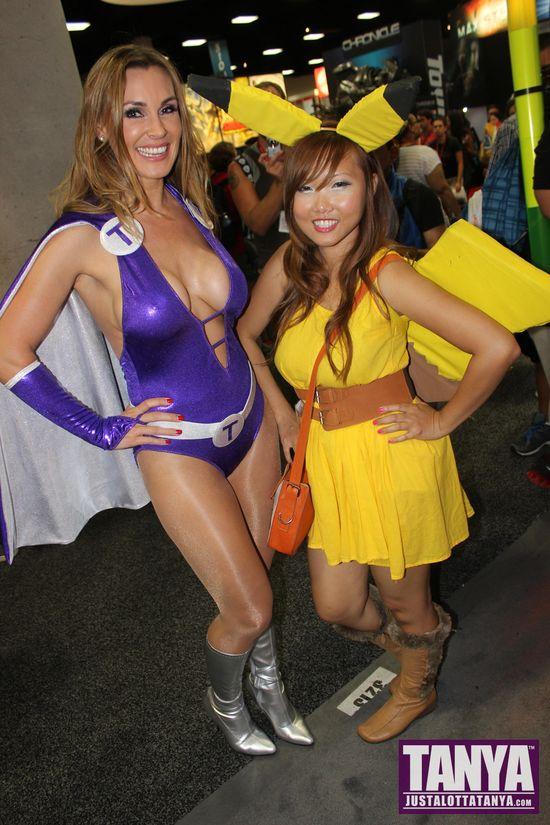 Tanya Tate San Diego Comic Con 2014 Lady Titan Cosplay SDCC 047