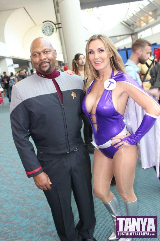 Tanya Tate San Diego Comic Con 2014 Lady Titan Cosplay SDCC Star Trek