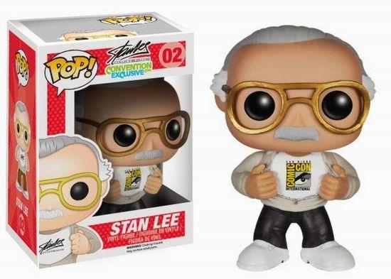 San Diego Comic-Con 2014 Exclusive Stan Lee Pop! Vinyl Figure by Funko