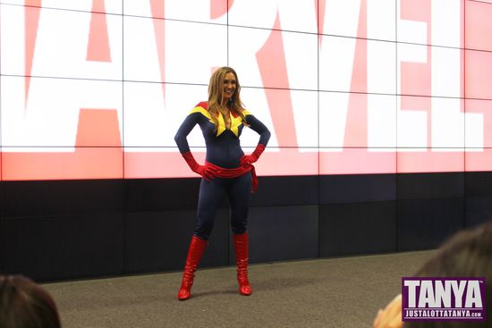 Tanya Tate San Diego Comic Con 2014 Captain Marvel Cosplay SDCC 002