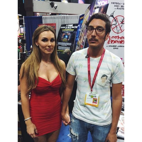 Tanya Tate Kassem G San Diego Comic Con SDCC 2014
