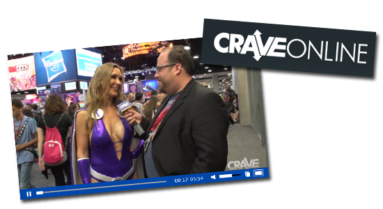 Tanya Tate CraveOnline Dos Donts Cosplay SDCC Video San Diego Comic Con 2014