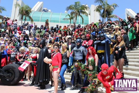 Tanya Tate San Diego Comic Con 2014 Black Canary Cosplay SDCC 005