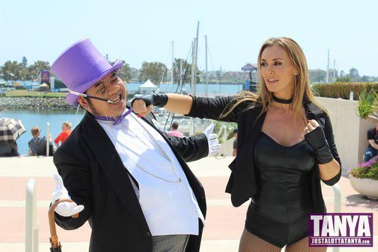 Tanya Tate San Diego Comic Con 2014 Black Canary Cosplay SDCC 017