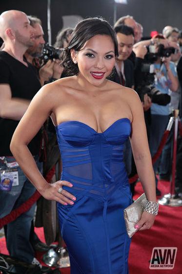 Adrianna Luna AVN Awards 2014 Red Carpet 544698