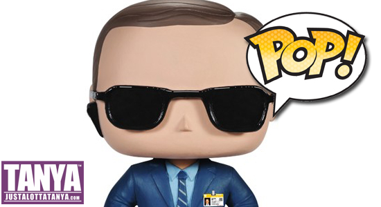 Agent Coulson, Agents of SHIELD, Marvel, Funko, POP, Vinyl Figure, Marvel Cinematic Universe, Clark Gregg, Sexy Geek Girl, Tanya Tate, @TanyaTate, Geek Girl, Toys, Action figure, Avengers, SHIELD