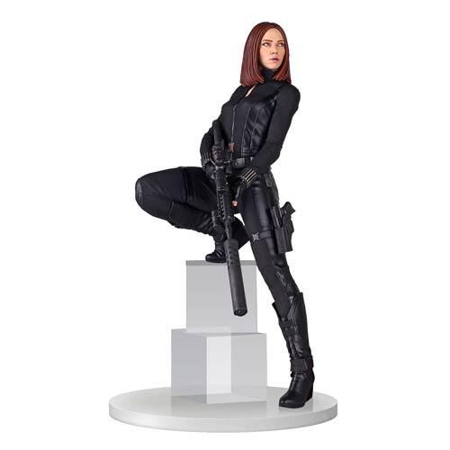 Captain America The Winter Soldier Marvel Comics Black Widow Scarlett Johansson Statue