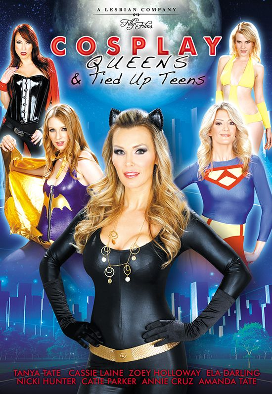 Tanya Tate, @TanyaTate, Adult Star, MILF, British Adult Star, UK adult stars, Filly Films, Tanya Tate's Cosplay Queens and Tied Up Teens, Brit School Brats, Rule Brit Tanya, Episode 2, Review, Adult DVD Talk, Xcritic, Nightmoves Magazine, Rog Reviews, Adult Film, 5 Star