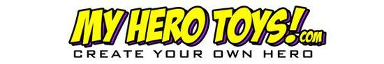 My Hero Toys Logo Sugar Bear Media