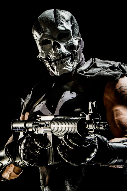Derrick Pierce Crossbones Captain America XXX