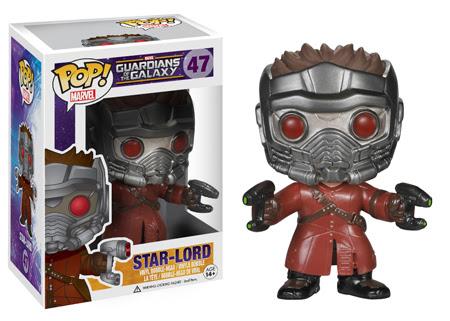 Funko POP Marvel Guardians of The Galaxy - Star Lord Vinyl Figure