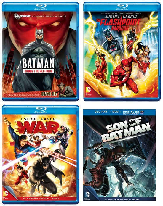 DC Animated Movie Posters