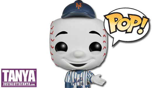 Tanya Tate, Funko, POP Vinyl Figures, Collectibles, Toys, Action Figures, @TanyaTate, Major League Baseball, MLB, Mascots, Mariner Moose, Mr. Met, Mr. Redlegs, Orbit, Phillie Phanatic, Swinging Friar, Wally the Green Monster