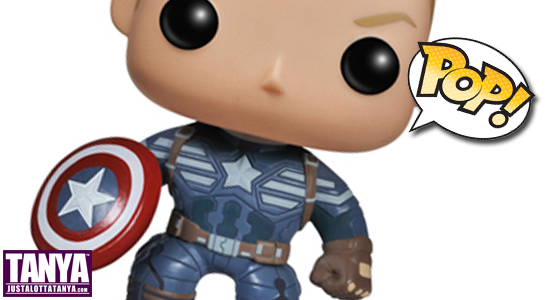 Funko, Pop Vinyl Figure, Tanya Tate, Collectible, Toy, Action Figure, Pre-Order, marvel, Captain America: The Winter Soldier, Unmasked, Exclusive, Toymatrix, TWS, Steve Rogers