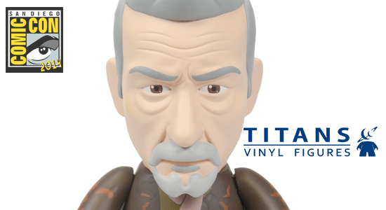 TITANS Doctor Who SDCC 2014 Exclusives