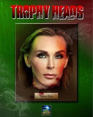 Tanya Tate Full Moon Horror Trophy Heads Scream Queens