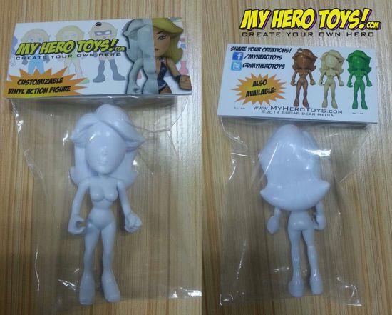 My Hero Toy Packaging MHT Sample