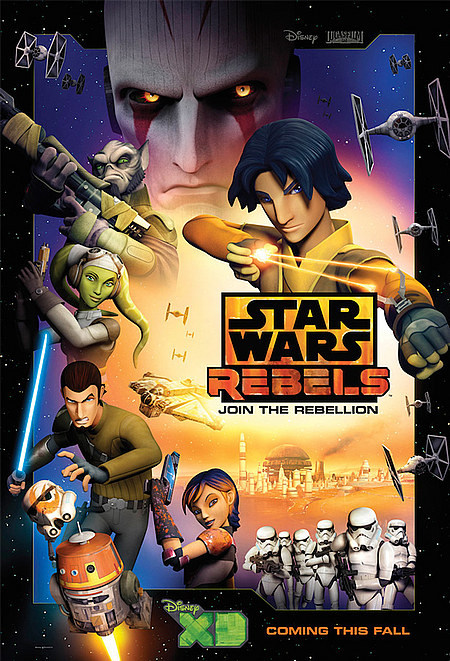 Star Wars Rebels, Star Wars, Animated Series, The Heroes of Star Wars Rebels, Disney XD, SDCC, San Diego Comic Con, 2014, Lucasfilm