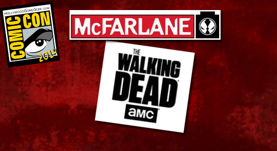 McFarlane Toys, Building Toys, Todd McFarlane, SDCC, San Diego Comic Con, 2014, The Walking Dead, Booth 2729