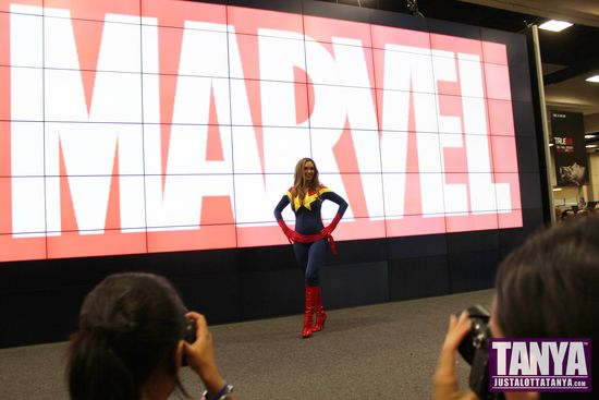 Tanya Tate San Diego Comic Con 2014 Captain Marvel Cosplay SDCC 003