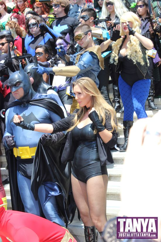 Tanya Tate San Diego Comic Con 2014 Black Canary Cosplay SDCC 003