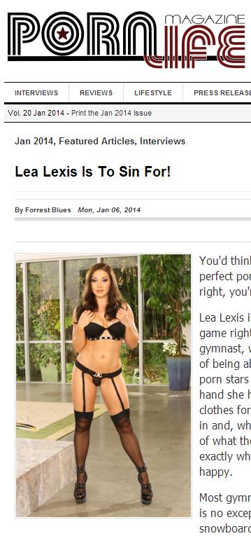 Lea Lexis_PornLifeMag
