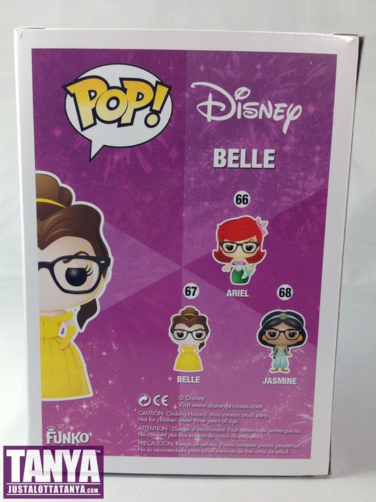 Disney, Beauty and the Beast, Belle, Beauty, Beast, Funko, Pop, Review, Tanya Tate, @TanyaTate, Hipster Belle, Exclusive, Hot Topic, Limited, rare, Pop Culture, Figure, Collectible, Toy, Disney Princesses, Vinyl Figure