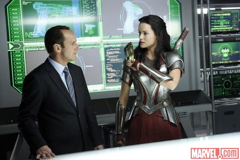 Marvel Agents of Shield Sif Thor 008