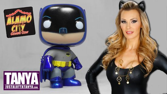 Tanya Tate, @TanyaTate, Batman, Classic Batman, Adam West, Funko, POP, Vinyl Figure, Collectible, Toy Review, Geek Girl, Retro, Superhero, DC Comics, Youtube, Video Review, Action Figure, Atlantic City Comic Con, ACCC, Exclusive, Metallic