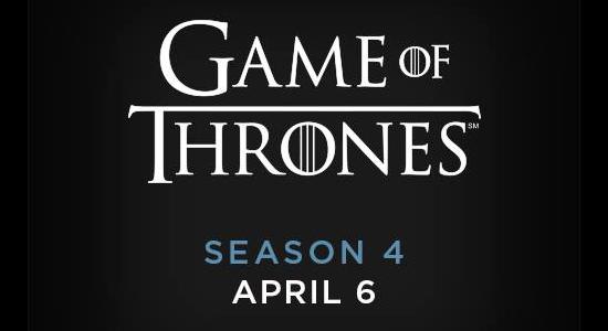 Game of Thrones Season 4 Logo HBO GOT