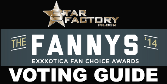 Star Factory PR The Fanny Awards Exxxotica 2014