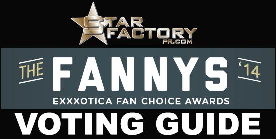 Star Factory PR The Fanny Awards Exxxotica 2014