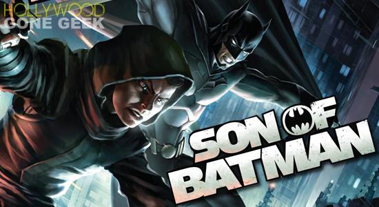 Son of Batman DVD Bluray DC Comics Animated Film Movie Cover 01