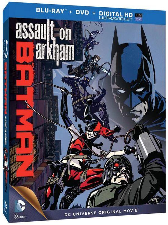 Batman Assault On Arkham Animated Movie Bluray